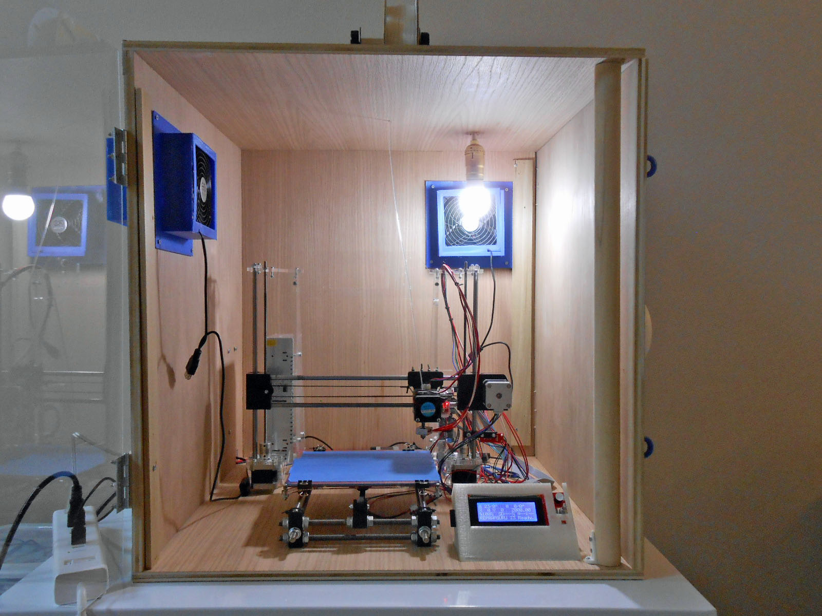 3D Printer Enclosure  & Indoor Air Quality