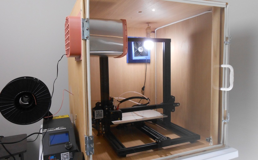 3D Printer Enclosure FanAssembly