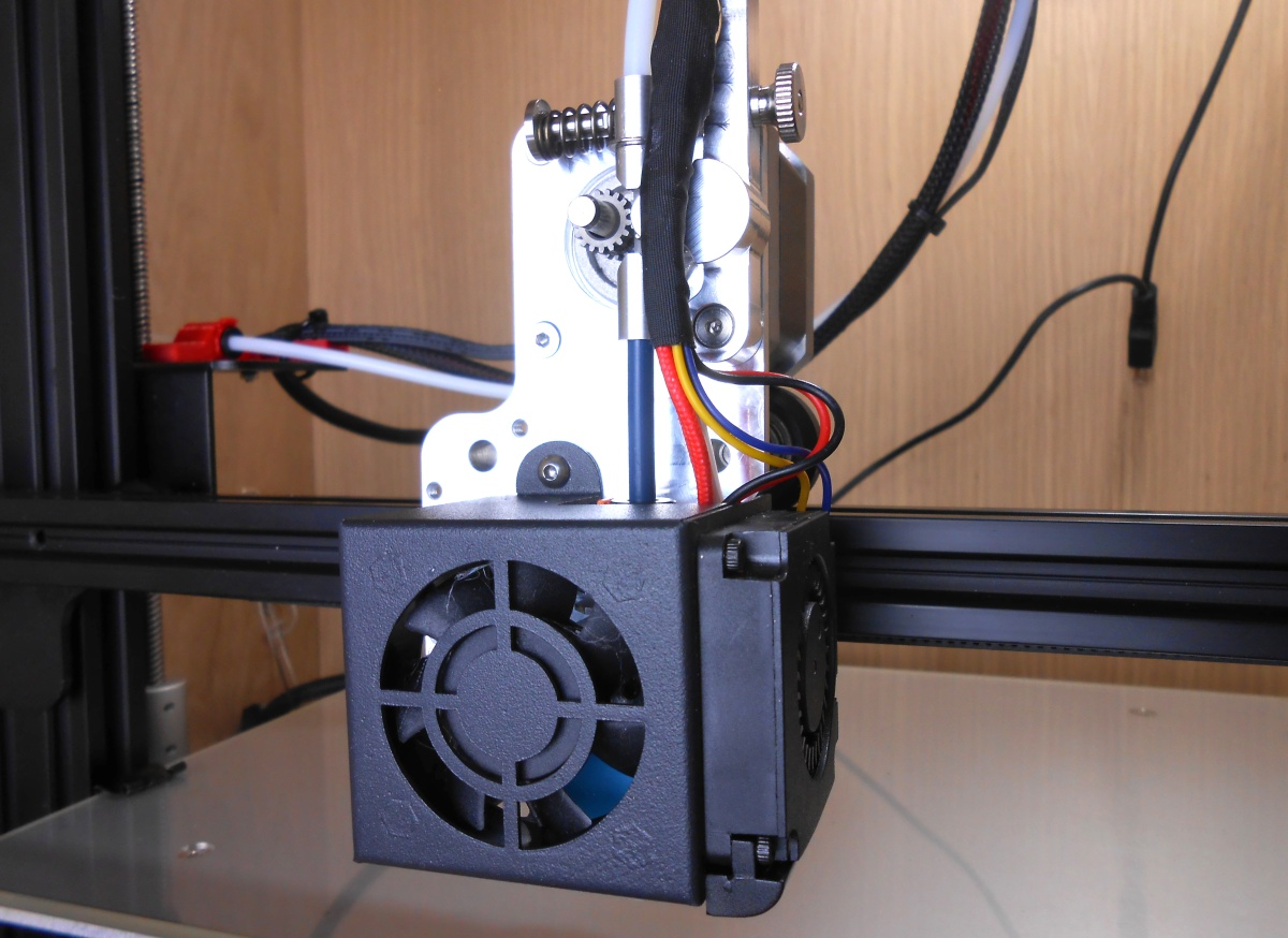 Installation Notes – CR10 Mini – Direct Drive Extruder