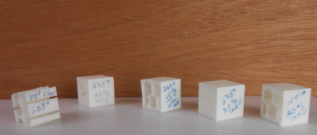 LW-PLA filament test
