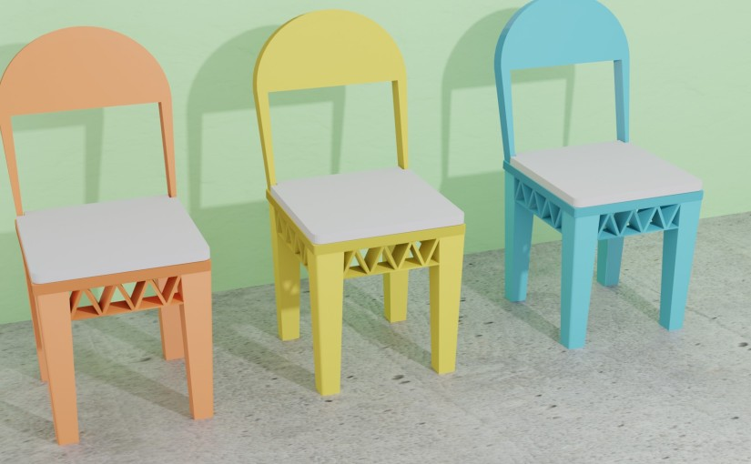Is A Chair Cushion Possible With colorFabbLW-PLA?